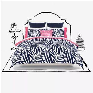 Kate spade full/queen comforter three-piece set